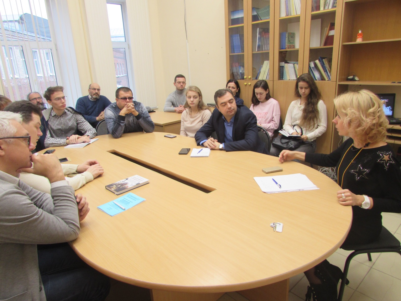 The regular meeting of Nizhny Novgorod branch of the AES